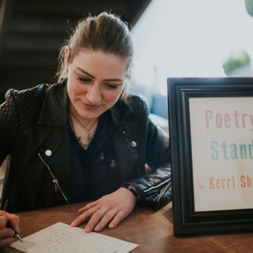 Poetry Stand at CreativeMornings OKC